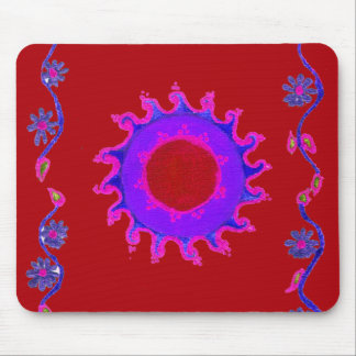 Create Your Own midnight sunshine Mouse Pad