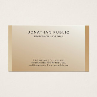 Create Your Own Modern Harmonic Colors Classy Business Card
