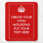 Create Your Own Mouse Pads