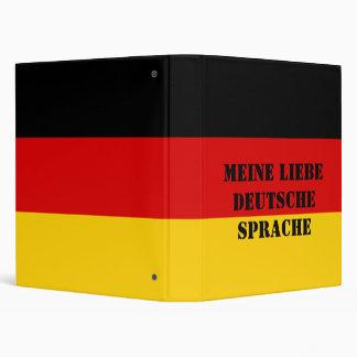 Create Your Own My Lovely German Language Vinyl Binder