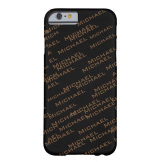 create your own name pattern barely there iPhone 6 case