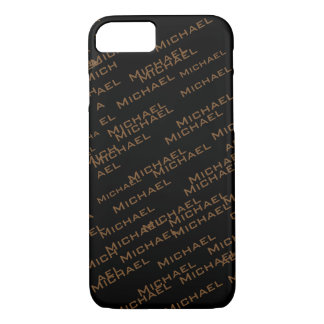 create your own name pattern iPhone 7 case