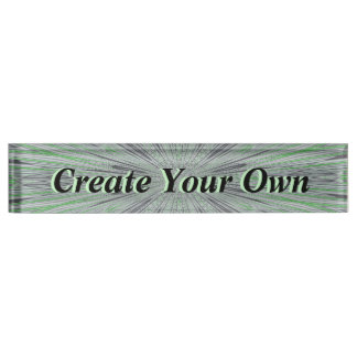 Create Your Own Nameplate