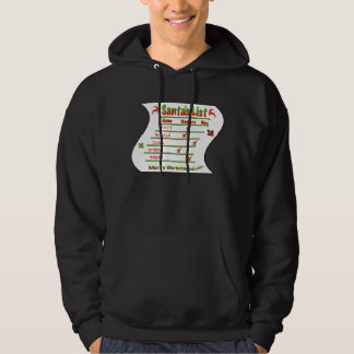 Create Your Own Naughty and Nice Santa's List Hoodie