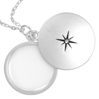 CREATE YOUR OWN NECKLACE. ROUND LOCKET NECKLACE