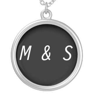 Create Your Own Necklace Change Initials