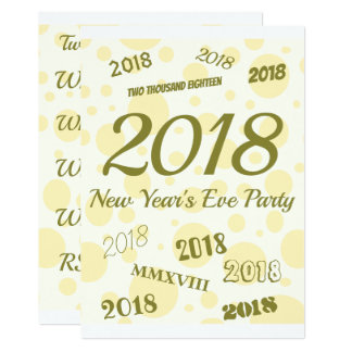 Create Your Own New Year's Eve Card