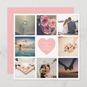 Create Your Own Newlywed Wedding Anniversary Photo Card