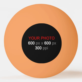 Create Your Own Orange Three Star Ping Pong Ball