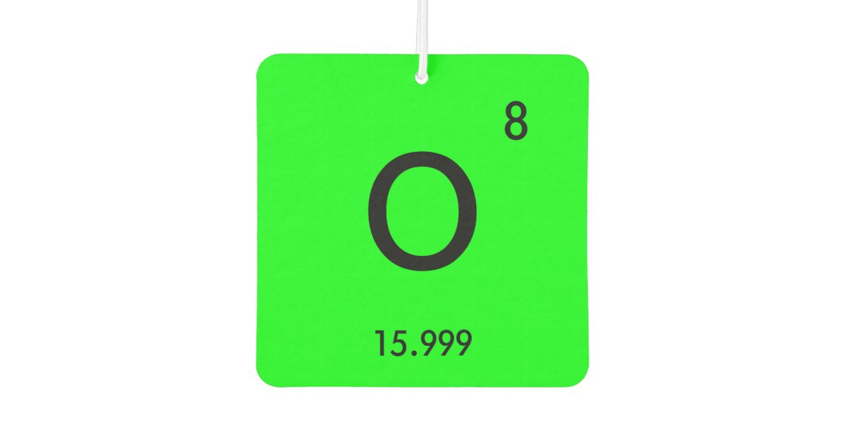 Create Your Own Periodic Table Element Symbol Air Freshener Zazzle