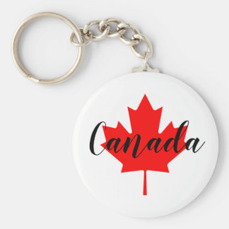 Create Your Own Personalized Canada Red Maple Leaf Keychain