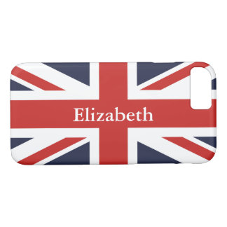 Create Your Own Personalized Red Union Jack iPhone 8/7 Case