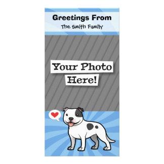 Create Your Own Pet Custom Photo Card