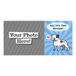Create Your Own Pet Customized Photo Card