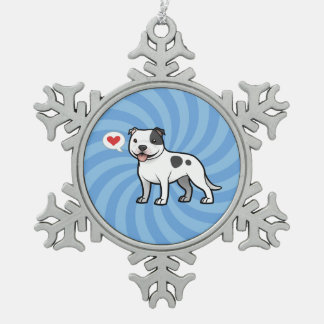 Create Your Own Pet Pewter Snowflake Ornament