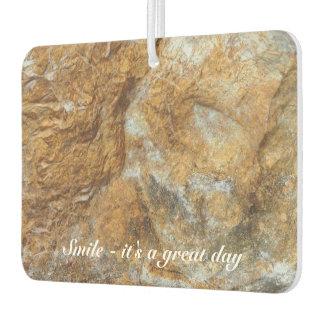 Create your own photo air freshener - rock