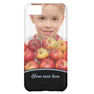 Create Your Own Photo Blue Edge iPhone5 Case For iPhone 5C