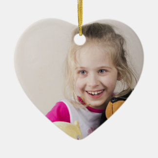 Create-Your-Own-Photo | Ceramic Heart Ornament