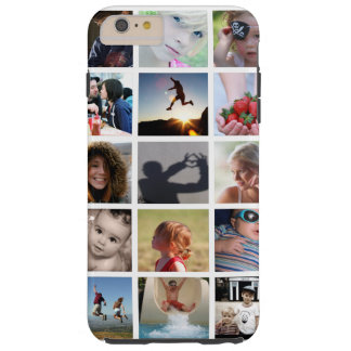 Create-Your-Own Photo Collage iPhone 6 Plus Case Tough iPhone 6 Plus Case