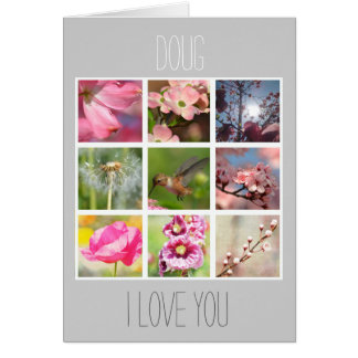 Create Your Own Photo Collage Love Card