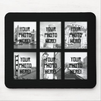 Create-Your-Own Photo Collage Mousepad