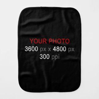 Create Your Own Photo Custom Baby Burp Cloth