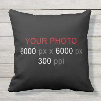 Create Your Own Photo Custom Outdoor Pillow