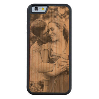 Create your own photo phone case in wood