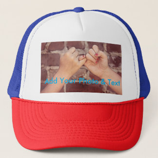 Create Your Own Photo Trucker Hat