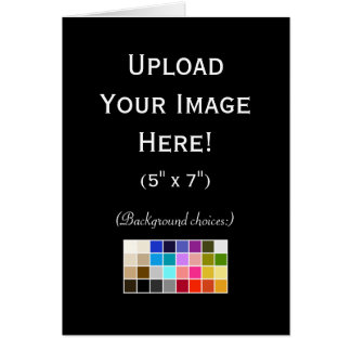 Create-Your-Own Photo Upload Greeting Card