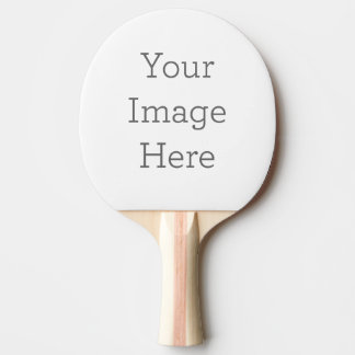 Create Your Own Ping-Pong Paddle