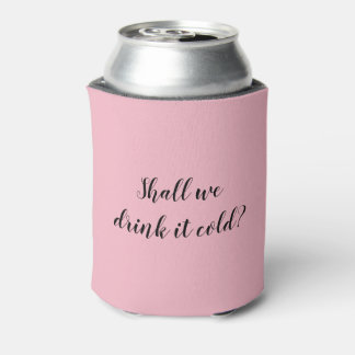 Create Your Own Pink Can Cooler