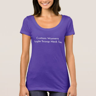 Create Your Own Pretty Purple T-Shirt