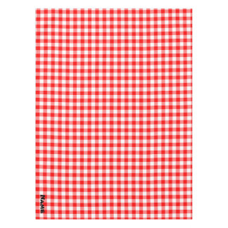 Create Your Own Red Gingham Tablecloth