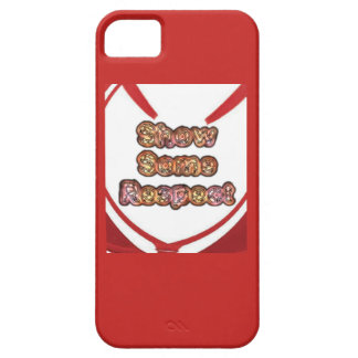 Create Your Own Red show some respect Case For The iPhone 5