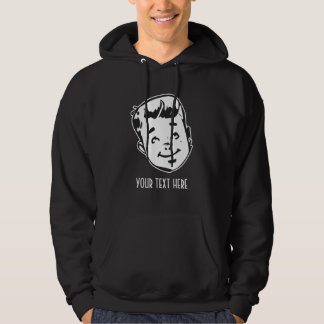 CREATE YOUR OWN RETRO BOY GIFTS HOODIE