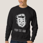 CREATE YOUR OWN RETRO BOY GIFTS SWEATSHIRT