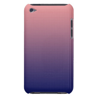 Create your own   salmon pink to blue gradient iPod touch cover