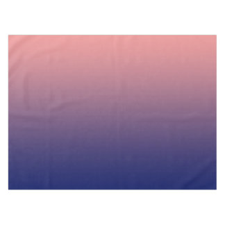 Create your own | salmon pink to blue gradient tablecloth
