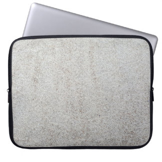 Create your own   Sand texture photo Laptop Sleeve