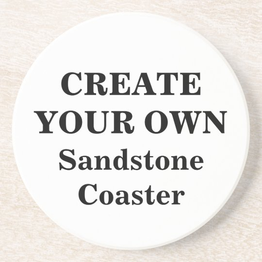 Create Your Own Sandstone Coaster