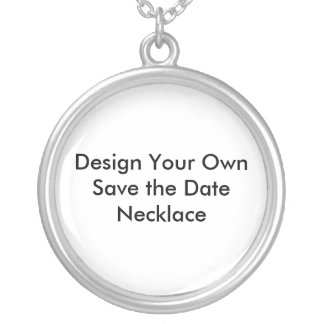 Create Your Own Save the Date Necklaces