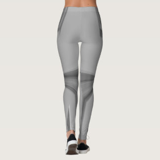 Create Your Own Silver Back cute pretty Leggings