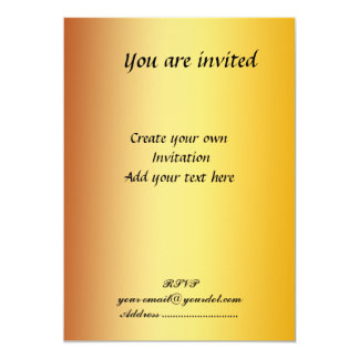 Create your own Simple Invitation Card