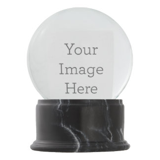 Create Your Own Snow Globe! Snow Globe