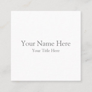 Business cards business card printing zazzle canada create your own square business card reheart Images