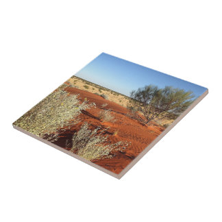 Create your own square tile - Australian desert