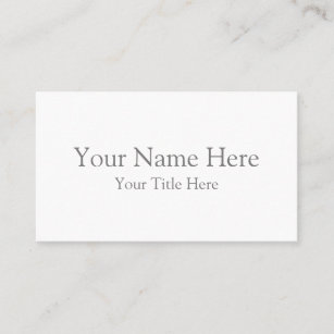 Business cards profile cards zazzle ca create your own standard business card reheart Gallery