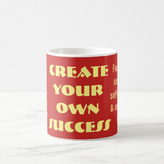 Create your own success - Quote Mug