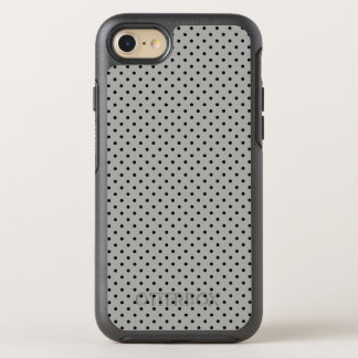 Create Your Own Tiny Black Polka Dot OtterBox Symmetry iPhone 8/7 Case